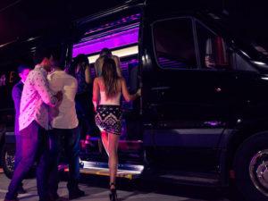 Burlington Ma Party bus